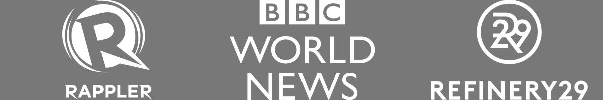 BBC, Rappler, Refinery29, Examiner
